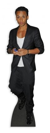 Star Cutouts Cut Out of Aston Merrygold JLS by Star Cutouts Ltd