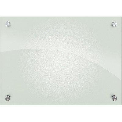Enlighten Wall Mounted Glass Board, 2' H x 2' W by (Best Rite Enlighten Glass)