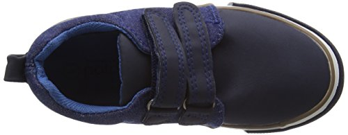Pumpkin Patch Denim Panelled - Zapatillas de deporte Niños Azul (Copen Blue)