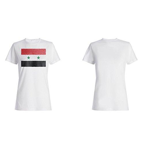 Neue Flagge Von Syrien Art Damen T-shirt i234f