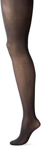 L'eggs Women's Sheer Energy 3 Pack Sheer Tight, Jet Black, - Sheer Nylon Tights