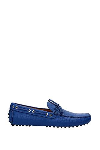Loafers Car Shoe Men - (KUD006COBALTODAINO2) UK Blue