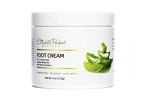 Organic Foot Cream for Dry Cracked Heels and Feet - Anti ...