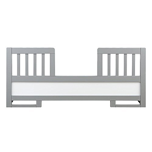 Karla DuBois Oslo Toddler Guard Rail Moon, Gray/Pure White by Karla Dubois