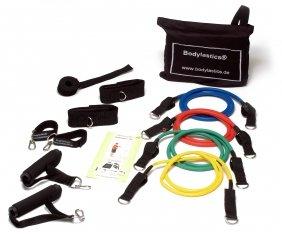 Bodylastics Komplett-Set Trainingssystem Kurzhantel, Softhantel, Fitnesshantel