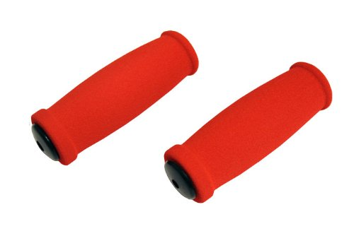 New Replacement Scooter Handle Grips for Razor Scooters (Red) (Razor Scooter Replacement Grips)