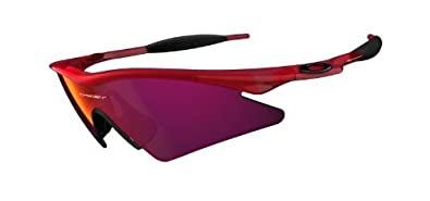 Oakley M Frame - Lunettes de soleil homme - Crystal Red - Red Iridium 5212b0e5162a