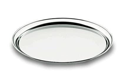 Lacor 62841 - Bandeja camarero 40 cm, inoxidable