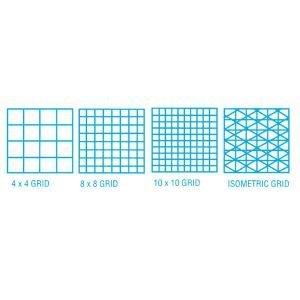 amazon com grid vellum 18x24 8x8 100sht drafting engineering art