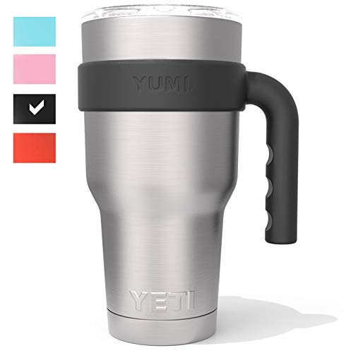 The Original YUMI Handle Perfectly Fits All Major Brand 30 Ounce Yeti Type Tumblers. Exclusive Scandinavian Design. (Tumbler Not Included) ()