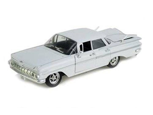 1959 Chevrolet Impala Sedan 4 Doors White 1/32 by Arko Products