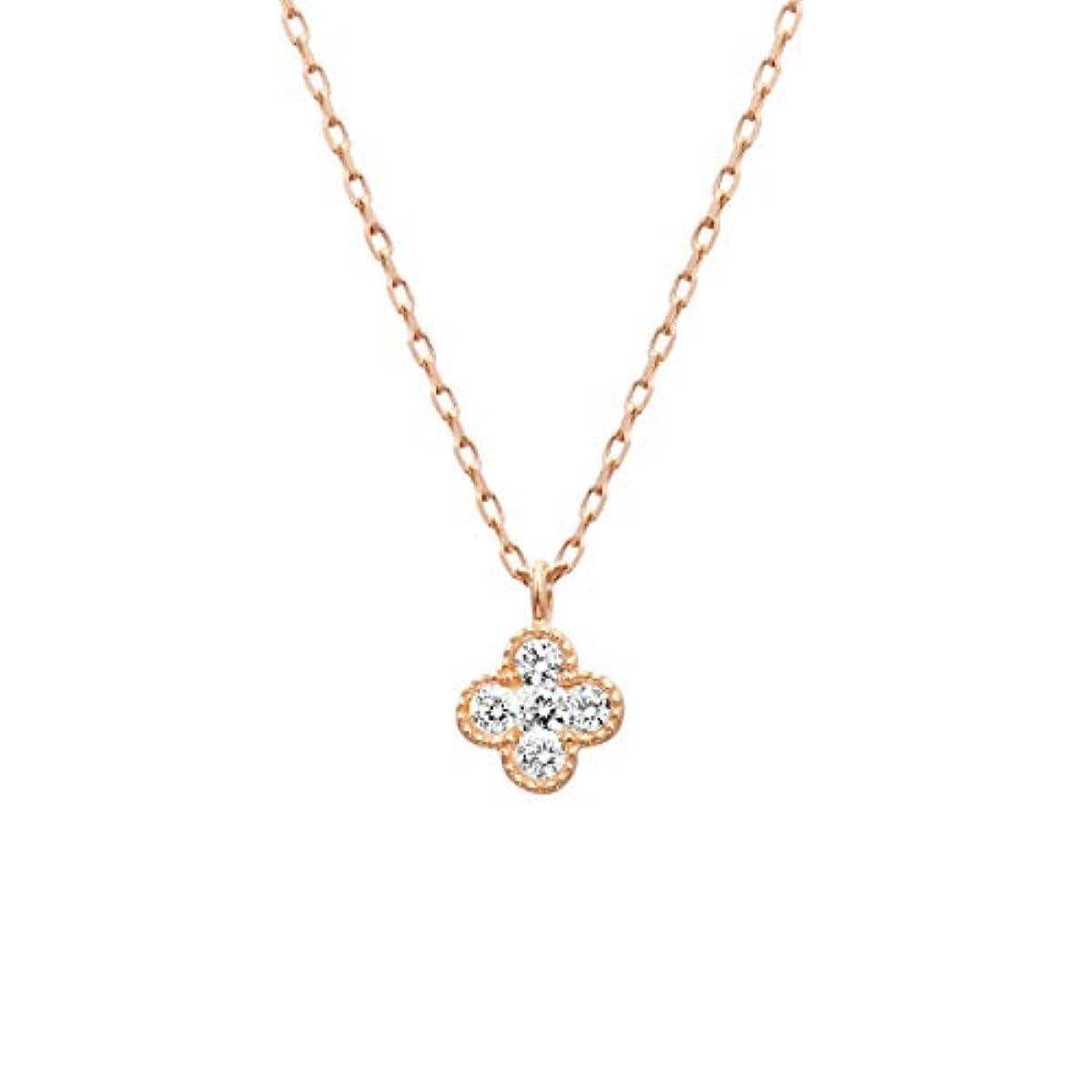 [해외] 4℃ 욘도씨 다이아몬드 K10 목걸이 111816123125