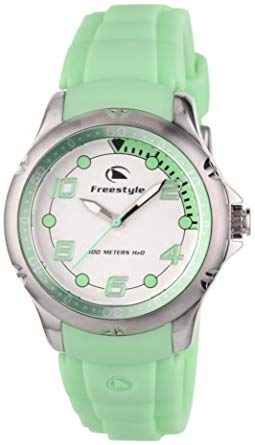 Hammerhead Watch Dive (Freestyle Women's FS84960 Hammerhead XS Classic Round Analog Japanese Quartz Green Watch)