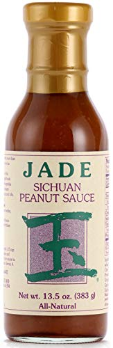 - Jade All-Natural Sichuan Peanut Sauce, 13.5 oz.
