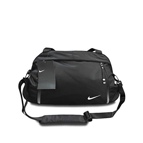 Nike Womens Sport Duffel Gym Bag, Medium, 25 x 12 x 7 - Black (BZ9808-010)