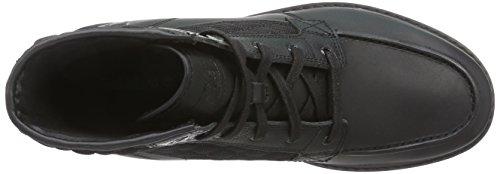 Timberland Newmarket FTB_Newmarket Moc Toe 6 in - botas de cuero hombre negro - negro