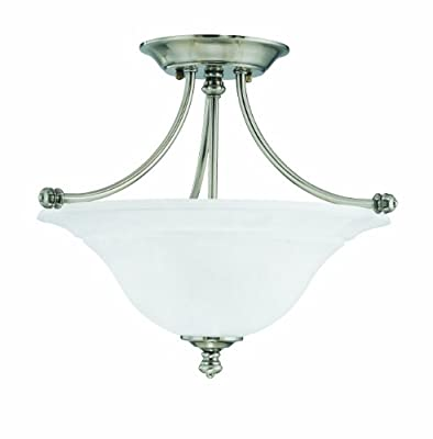 Thomas Lighting Harmony Two-Light Semi-Flushmount Fixture