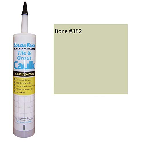 - Color Fast Caulk Matched to Custom Building Products (Bone Sanded)