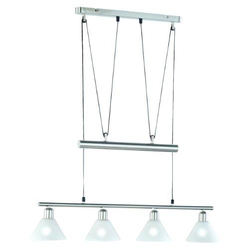 Trio Lighting Colgantes y Lámparas E14, Blanco, 4 luces