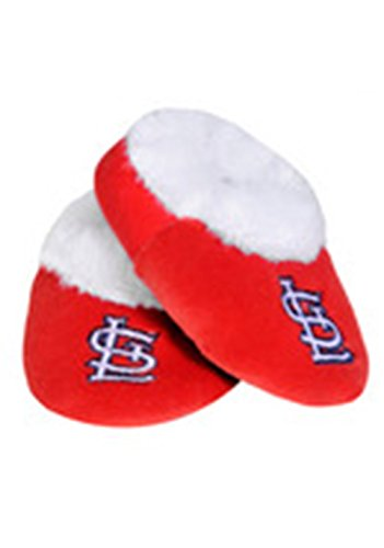 - MLB St. Louis Cardinals Baseball Baby Bootie Slippers, 6-9 Months