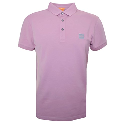 Hugo Boss Men's Hugo Boss Orange Men's Slim Fit Light/Pastel Pink Pavlik Polo Shirt