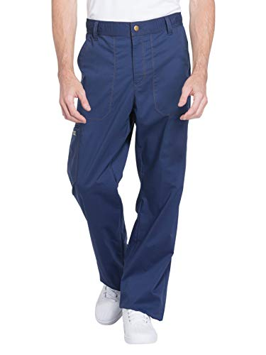 - Dickies Essence Men's DK160 Drawstring Zip Fly Pant (Navy, X-Large)