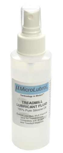 MicroLubrol Treadmill Lubricant Fluid Pure Silicone Oil MultiViscosity 4 fl  oz 118mL