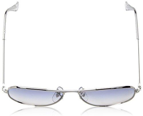 Light Ray ban Montures Gradient silver clear Lunettes Argenté Bébé Mixte De Blue AFvAZqw
