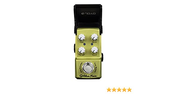 Amazon.com: Joyo JF-308 Golden Face Electric Guitar Single ...