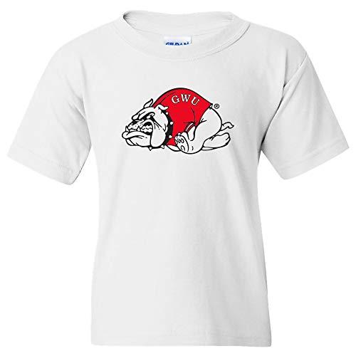 UGP Campus Apparel YS02 - Gardner-Webb Bulldogs Primary Logo Youth T-Shirt - Medium - White