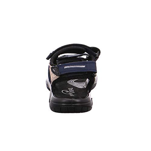 Sanavital 7301 Blue Sandals Women's Fashion 172 r1Ew8Pqr