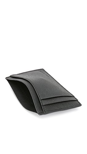 Leather Black Barrow ID Jack Spade ID Leather Men's Spade Barrow Wallet Jack Men's z4B6wp7SqW