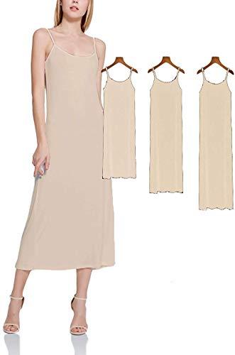 (XUJI Clothes Tank Top Clothes Camisole Cami Shirt Stretch Soft (Skin-L-L))