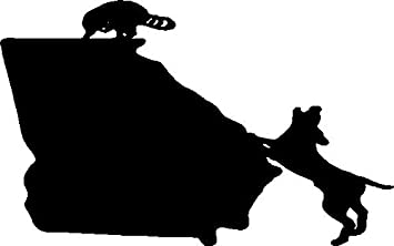 Coon Hunting Georgia State Decal Vinyl Truck Window Stickers Raccoon Graphic