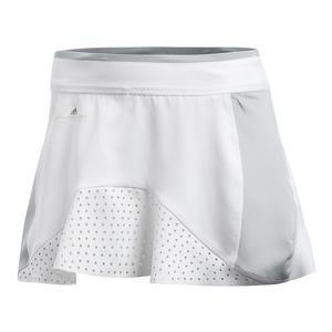 ADIDAS Women`s Stella McCartney Barricade Tennis Skort White and Aero Lime - - Favorite Fashion Blogs