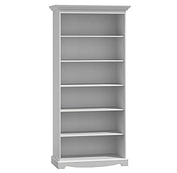 Belluno Prestige solid pine wood bookcase  adjustable shelves