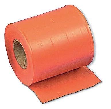 Presco Products Taffeta Flagging Tape, Orange, 300ft x 4In - TF4O300-188, (Pack of 2)