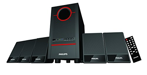 Philips Fusion SPA-3500F/94 5.1 Channel Home Theater System (Black)