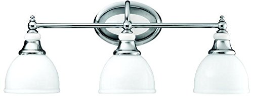- Kichler 5369CH Pocelona Bath 3-Light, Chrome