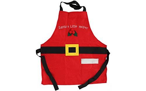 Sierra Pacific Crafts SPC Felt Apron Child's Santa Helper 27