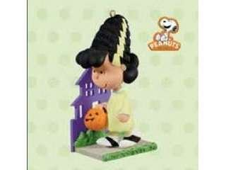 QFO5209 A Monstrously Pretty Bride - Peanuts Gang Halloween Lucy 2011 Hallmark Ornament