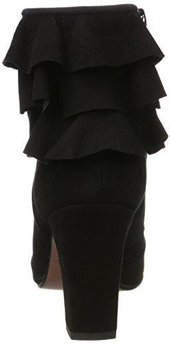 Chie Nero Acha Mihara Donna Negro Stivali Negro Ante prCOSTxpqw
