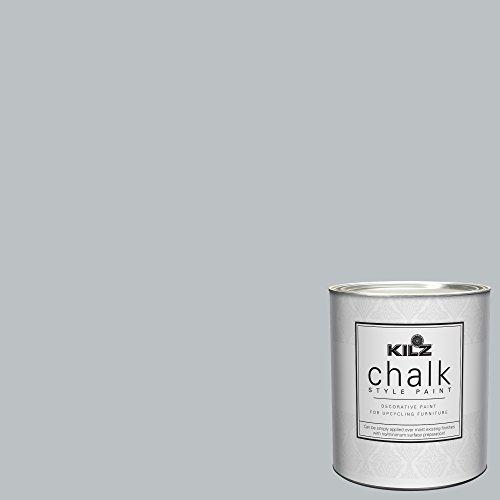 - KILZ 00004104 Decorative Paint, 1 Quart, Platinum Ring