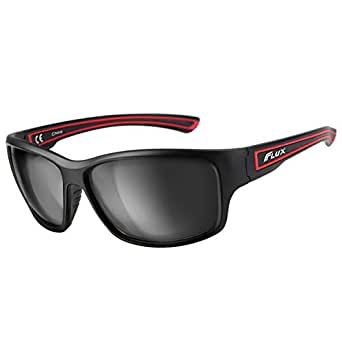 Flux Polarized Sports Sunglasses with Anti-Slip Function and Light Frame - for Men and Women when Driving, Running, Baseball, Golf, Casual Sports and Activities: PT005