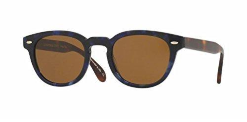 Oliver Peoples Sheldrake Sun- Blue Tortoise/Cosmik Tone- 5036 157353 - Sheldrake Oliver Sunglasses Peoples