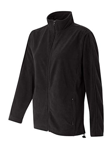 Featherlite Ladies' Full-Zip Micro-Fleece (Onyx Black) (3X)