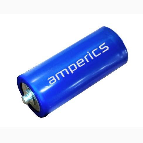(High Energy Density 3.0V 3000F Farad Amperics Supercapacitor)