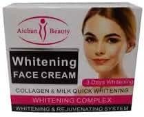 Aichun Beauty Natural Whitening Face Cream Collagen Milk Quick Rejuvenating System Skin Brightening