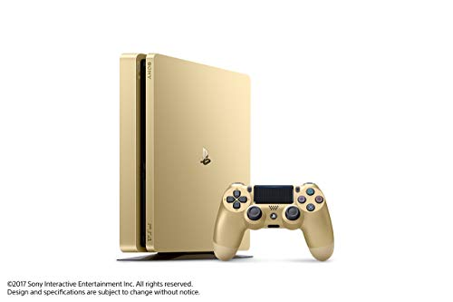 PlayStation 4 Slim 1TB Gold Console [Discontinued] (Renewed)