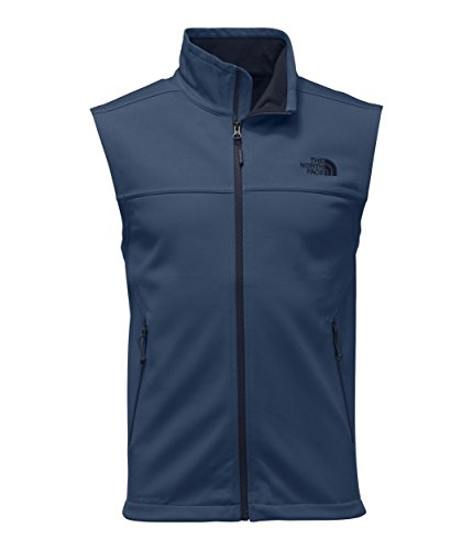 - The North Face Men's Apex Canyonwall Vest - Shady Blue & Shady Blue - S
